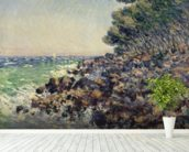 Cap Martin, 1884 (oil on canvas) mural wallpaper in-room view