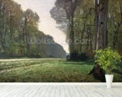 The Road to Bas-Breau, Fontainebleau (Le Pave de Chailly), c.1865 (oil on canvas) wallpaper mural in-room view