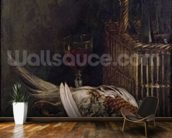 Still Life with a Pheasant, c.1861 (oil on canvas) wall mural kitchen preview