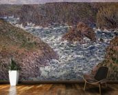 Port Domois at Belle Ile, 1886 wall mural kitchen preview
