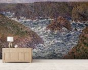 Port Domois at Belle Ile, 1886 wall mural living room preview