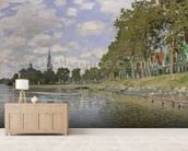 Zaandam (Holland) 1871 (oil on canvas) wall mural living room preview