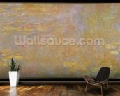 Waterlilies, after 1916 (oil on canvas) mural wallpaper kitchen preview