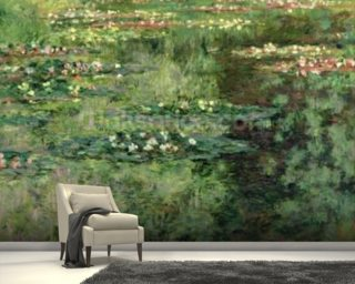 The Waterlily Pond, 1904 (oil on canvas) wall mural