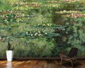 The Waterlily Pond, 1904 (oil on canvas) wall mural kitchen preview