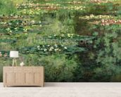 The Waterlily Pond, 1904 (oil on canvas) wall mural living room preview
