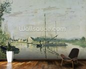Argenteuil, 1872 (oil on canvas) mural wallpaper kitchen preview