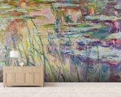 Reflections on the Water, 1917 (oil on canvas) wall mural living room preview