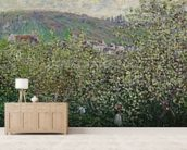 Fruit Pickers, 1879 (oil on canvas) wall mural living room preview