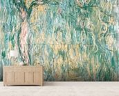 The Large Willow at Giverny, 1918 (oil on canvas) wall mural living room preview