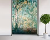 The Large Willow at Giverny, 1918 (oil on canvas) wall mural in-room view
