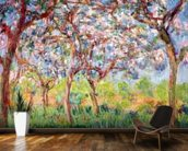 Printemps a Giverny, 1903 (oil on canvas) wall mural kitchen preview