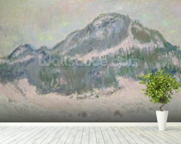 Mount Kolsaas, Norway, 1895 (oil on canvas) wall mural room setting