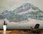 Mount Kolsaas, Norway, 1895 (oil on canvas) wall mural kitchen preview