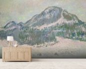 Mount Kolsaas, Norway, 1895 (oil on canvas) wall mural living room preview