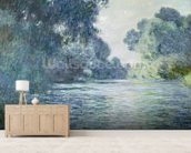 Branch of the Seine near Giverny, 1897 (oil on canvas) wallpaper mural living room preview