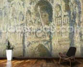 Rouen Cathedral in Full Sunlight: Harmony in Blue and Gold, 1894 wall mural kitchen preview