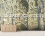 Rouen Cathedral in Full Sunlight: Harmony in Blue and Gold, 1894 wall mural living room preview