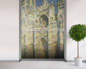 Rouen Cathedral in Full Sunlight: Harmony in Blue and Gold, 1894 wall mural in-room view