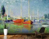 Argenteuil, c.1872-5 (oil on canvas) wall mural kitchen preview