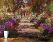 A Pathway in Monets Garden, Giverny, 1902 wall mural kitchen preview