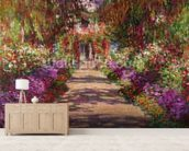 A Pathway in Monets Garden, Giverny, 1902 wall mural living room preview
