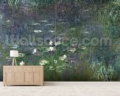 Waterlilies: Morning, 1914-18 (right section) wall mural living room preview