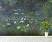 Waterlilies: Morning, 1914-18 (right section) wall mural in-room view