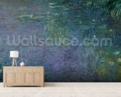 Waterlilies: Morning, 1914-18 (centre right section) wallpaper mural living room preview