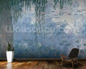 Waterlilies: Morning with Weeping Willows, 1914-18 (right section) wallpaper mural kitchen preview