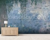 Waterlilies: Morning with Weeping Willows, 1914-18 (right section) wallpaper mural living room preview