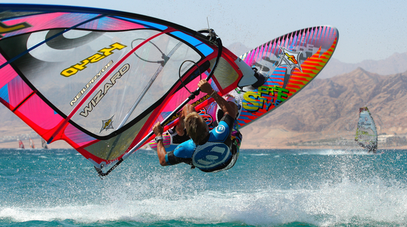 Windsurfing - Andy Bubble Chambers wall mural