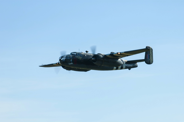 B25 North American Mitchell wall mural