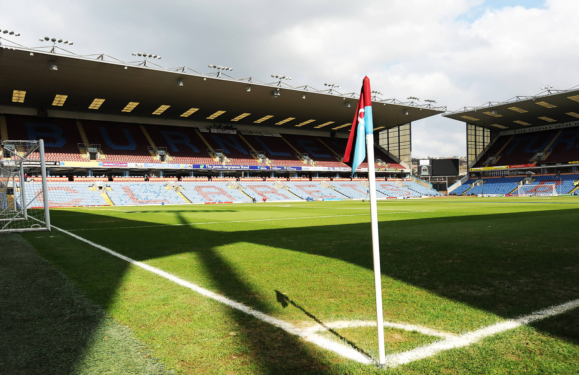 Turf Moor From Corner Flag
