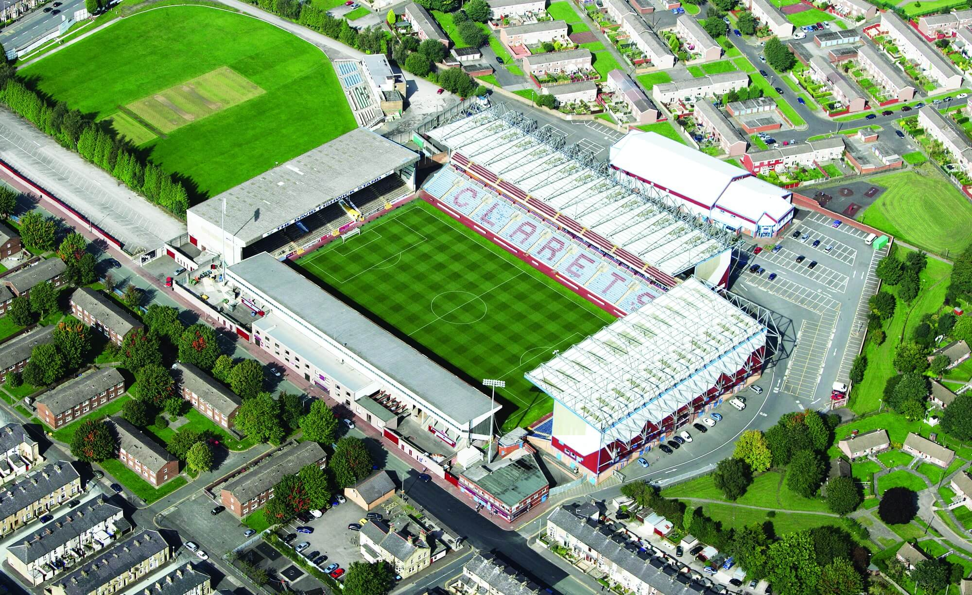 Turf Moor Aerial Photo