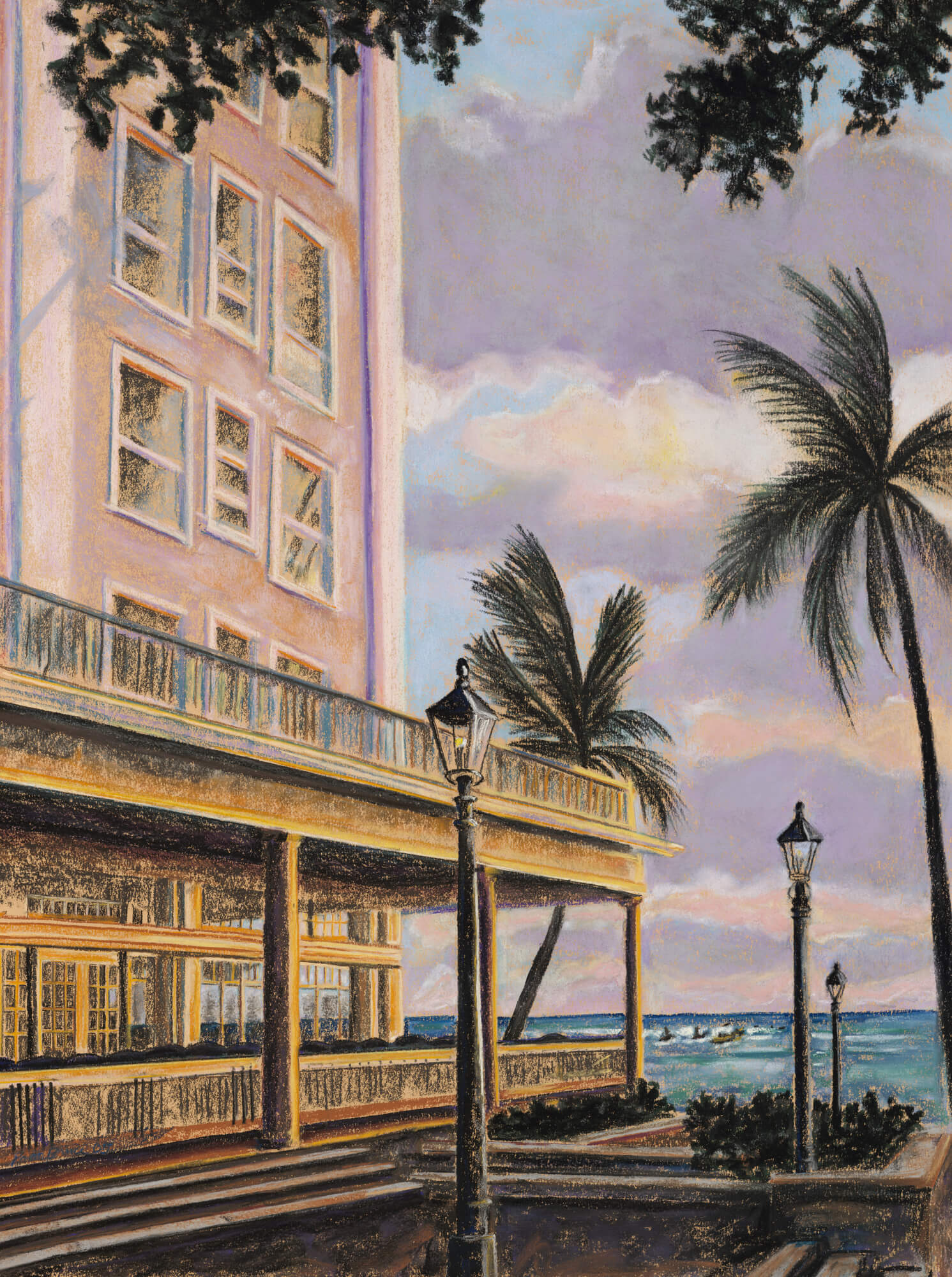 Moana at sunset hawaii wall mural moana at sunset hawaii moana at sunset hawaii wall mural photo wallpaper amipublicfo Image collections