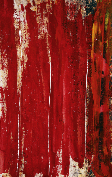 Red Study 1 - Abstract Painting In Red wall mural