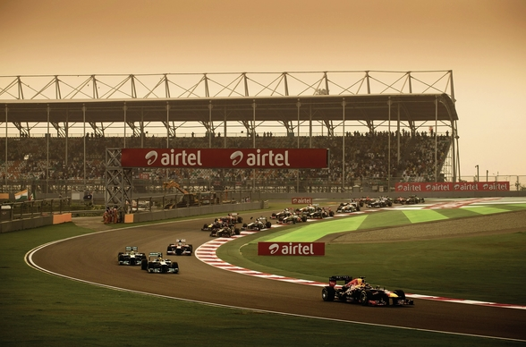 Indian Grand Prix 2013 wall mural
