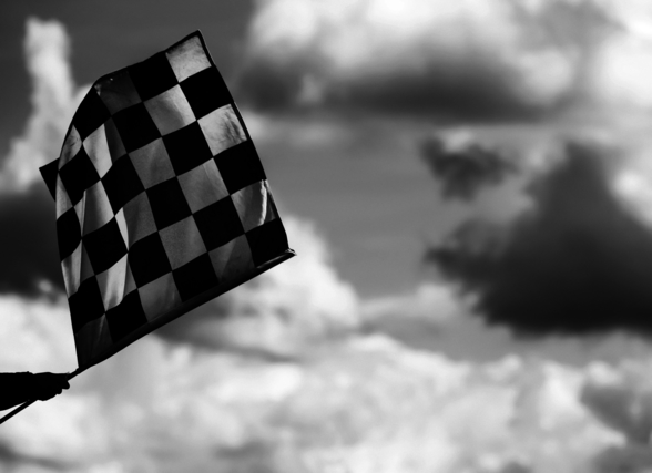 Chequered Flag 2 Belgium 2014 wall mural