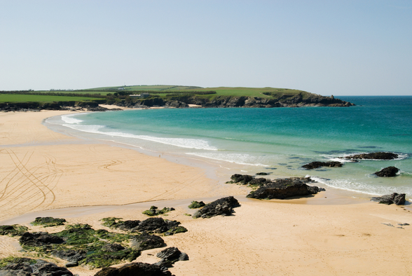 Harlyn Bay - Cornwall mural wallpaper