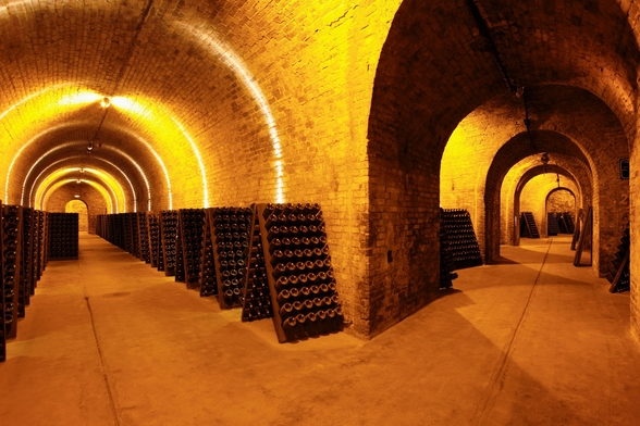 Wine Cellar Tunnels wallpaper mural