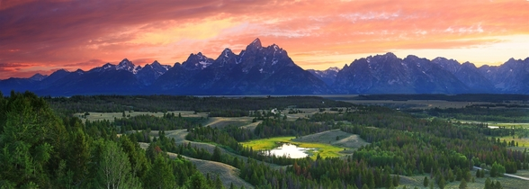 Teton National Park - Wyoming wallpaper mural
