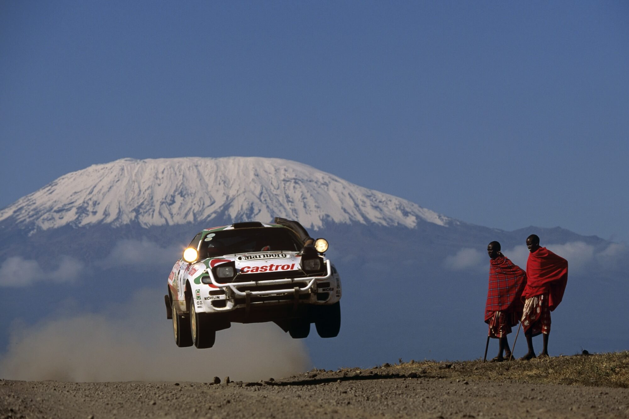 Juha Kankkunenu0027s Toyota Celica, East African Safari Rally Wall Mural Photo  Wallpaper