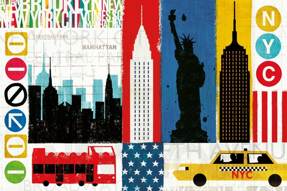 New York City Experience wall mural