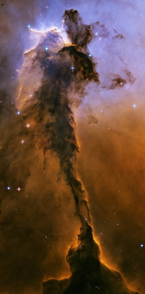 The Eagle Has Risen: Stellar Spire in the Eagle Nebula wallpaper mural