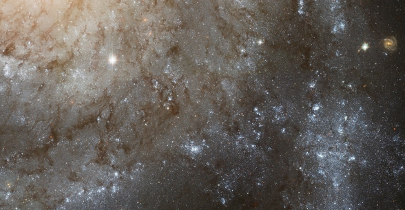 A Detailed Look at Spiral Galaxy M101 wallpaper mural