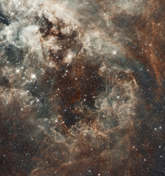 The Tarantula Nebula in the Large Magellanic Cloud wall mural
