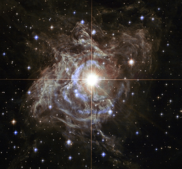 Cepheid Variable Star RS Puppis wallpaper mural