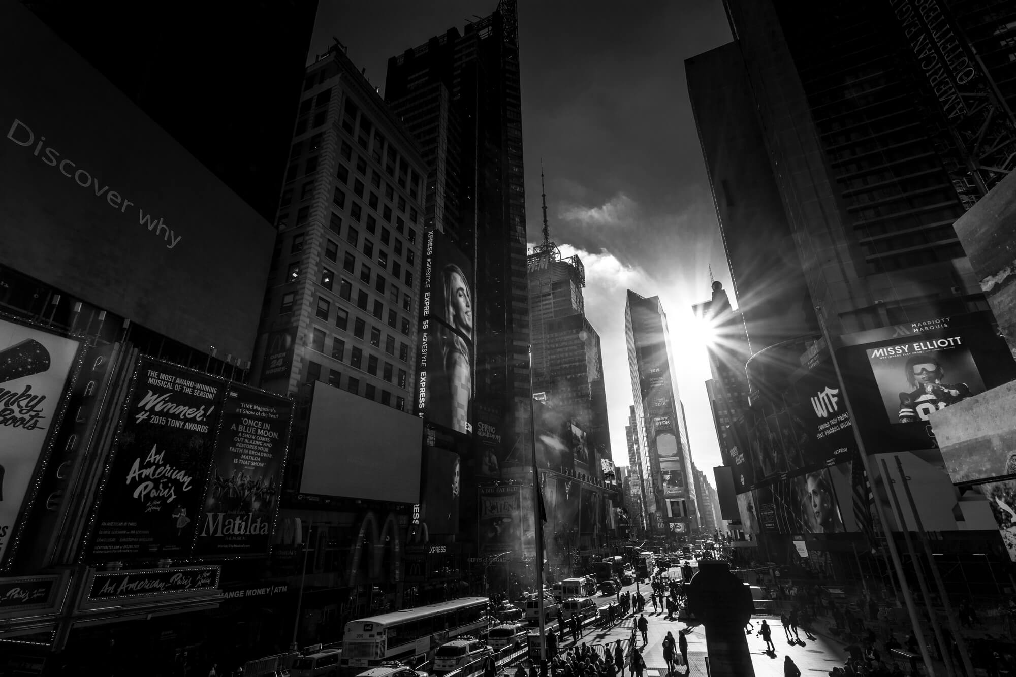 New York Time Square Wallpaper Wallsauce Us