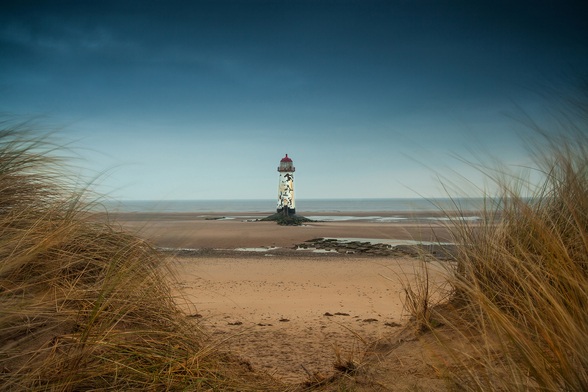 Talacre Sands mural wallpaper